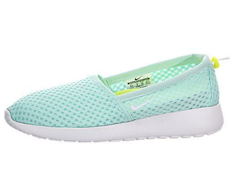 83d5a48eb582 Nike Womens Roshe One Slip Artisan TealWhiteVolt Loafers SlipOns Shoe 85  Women US -- Continue to the product at the image link.(This is an Amazon  affiliate ...