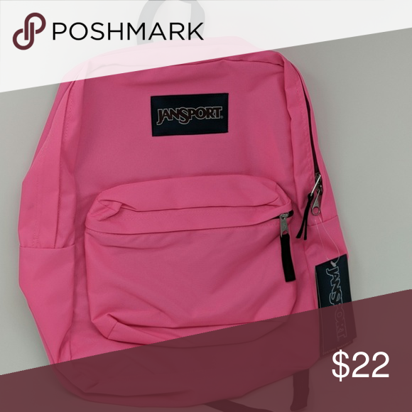 Jansport Pink Backpack Brand New with tags and lifetime
