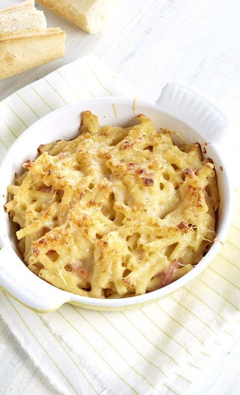 macaronis jambon-fromage | recipe's | recette, sans lactose et riz