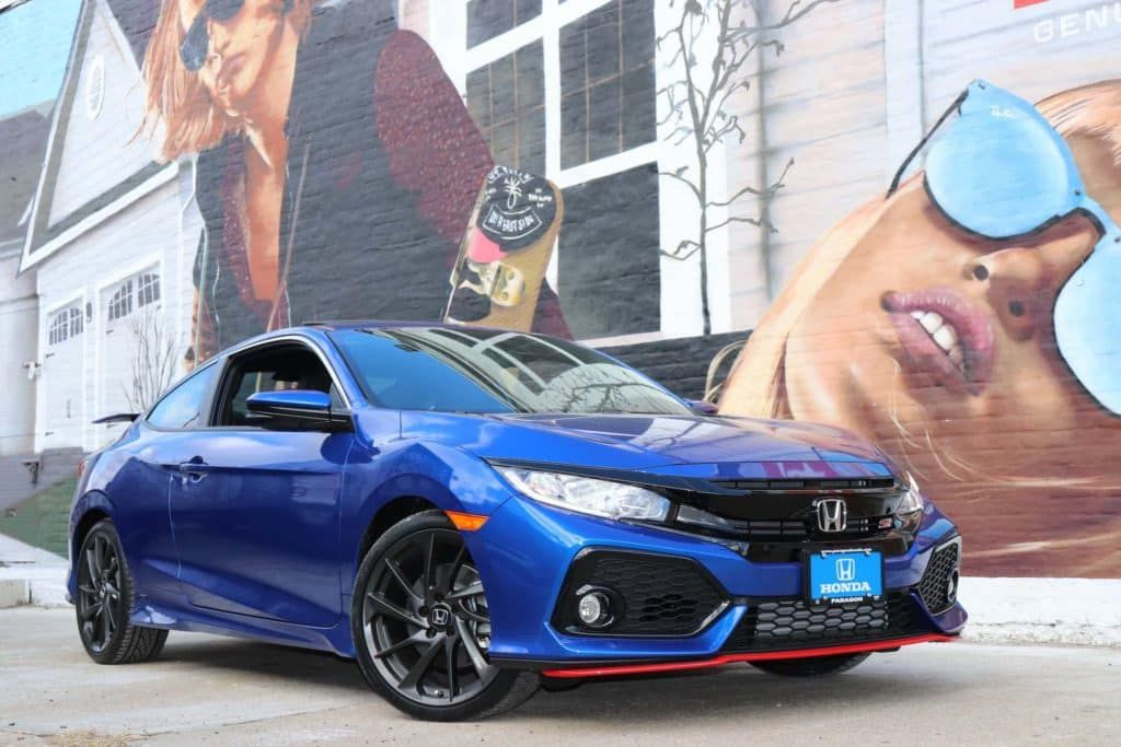 Introducing Our Latest Custombuild The Superman Blue Iconic For Its Blue Exterior And Red Accent Colors This 2018 Hon Honda Civic Vtec Honda Civic Honda