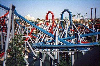 Dragon Challenge at Universal Studios Island of Adventure