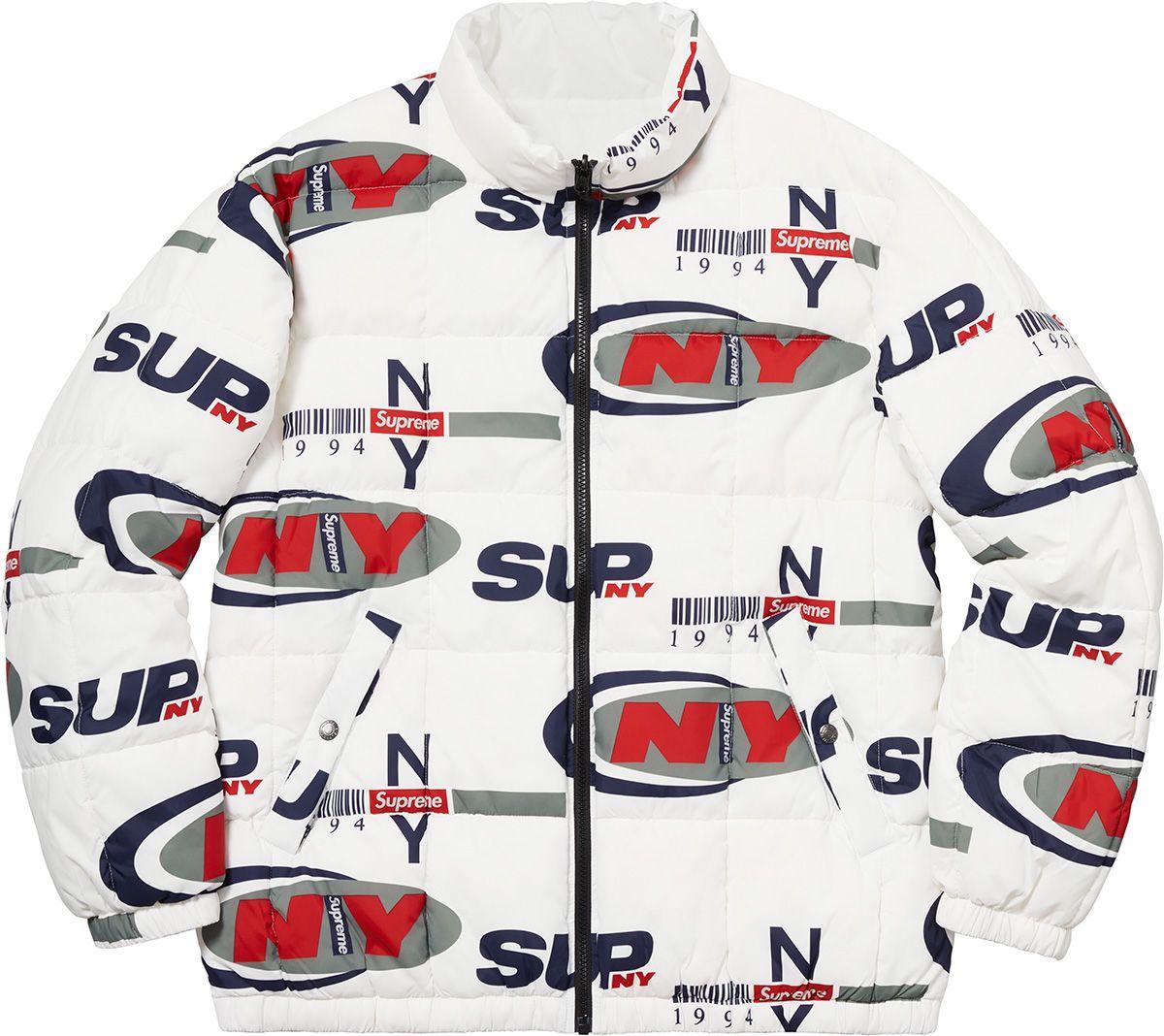 890e8d3fd4a Supreme Supreme NY Reversible Puffy Jacket