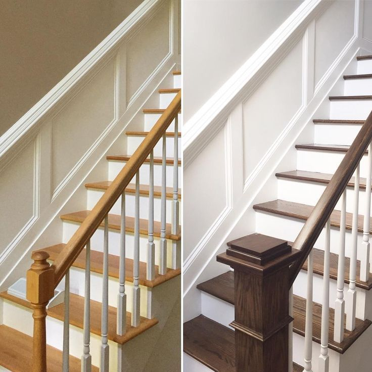 Staircase Remodel, White Stairs