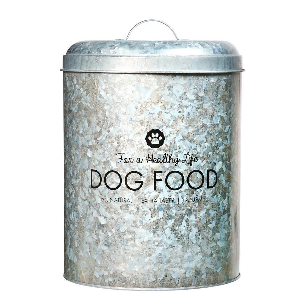 Amici Home Buster Healthy Life 25 Qt Metal Dog Food Bin 7cdi018r
