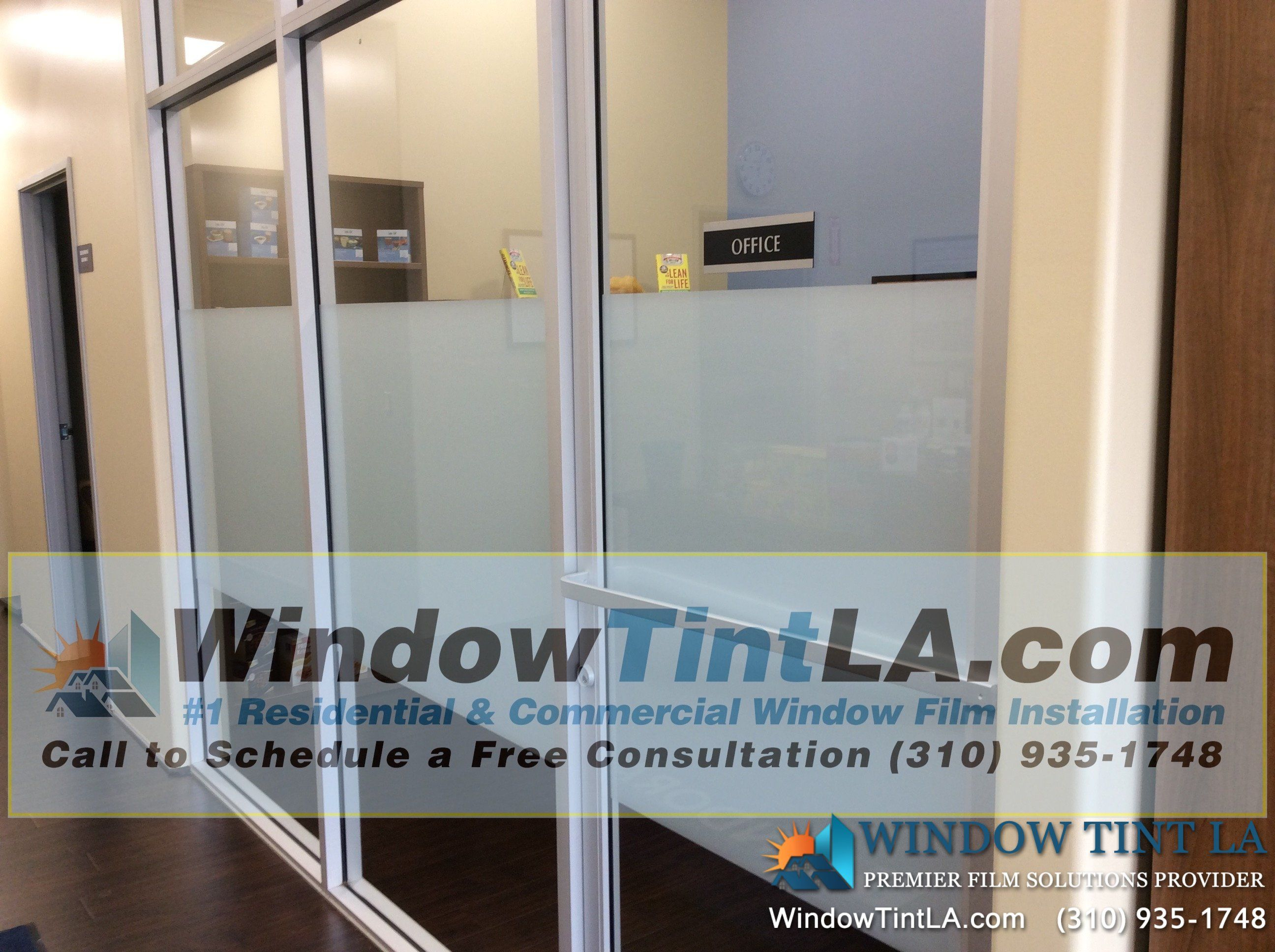 frosted window film is used for conference rooms offices lobbies retail - Frosted Window Film