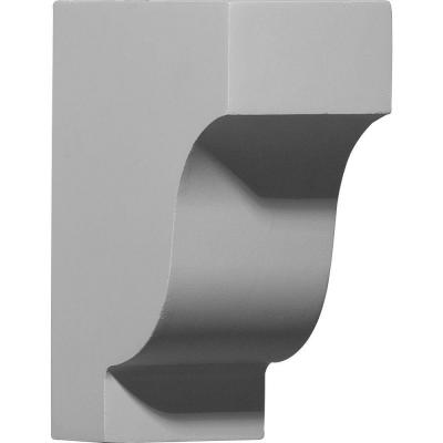 Ekena 2-7/8 in. x 5-7/8 in. x 7-1/4 in. Traditional Corbel-COR05X02X07TR at The Home Depot $35