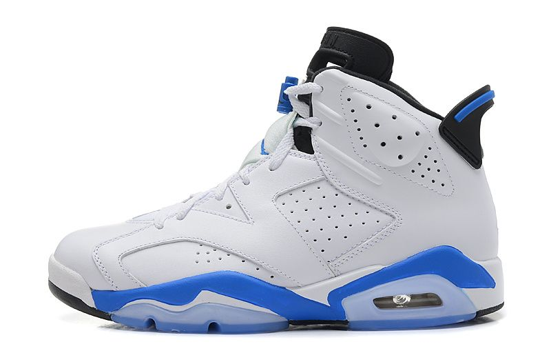 "Buy 2014 Air Jordan 6 (VI) Retro ""Sport Blue"" White/Sport Blue-Black Cheap  For Sale Online from Reliable 2014 Air Jordan 6 (VI) Retro ""Sport Blue"" ..."