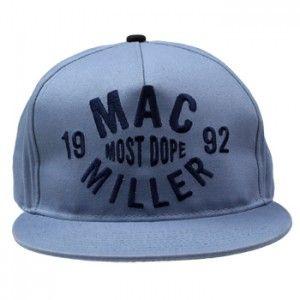 9a1116c7aba Mac Miller - Thumbs Up on Blue Snap Back - Hat  snapbacks  snapbax ...