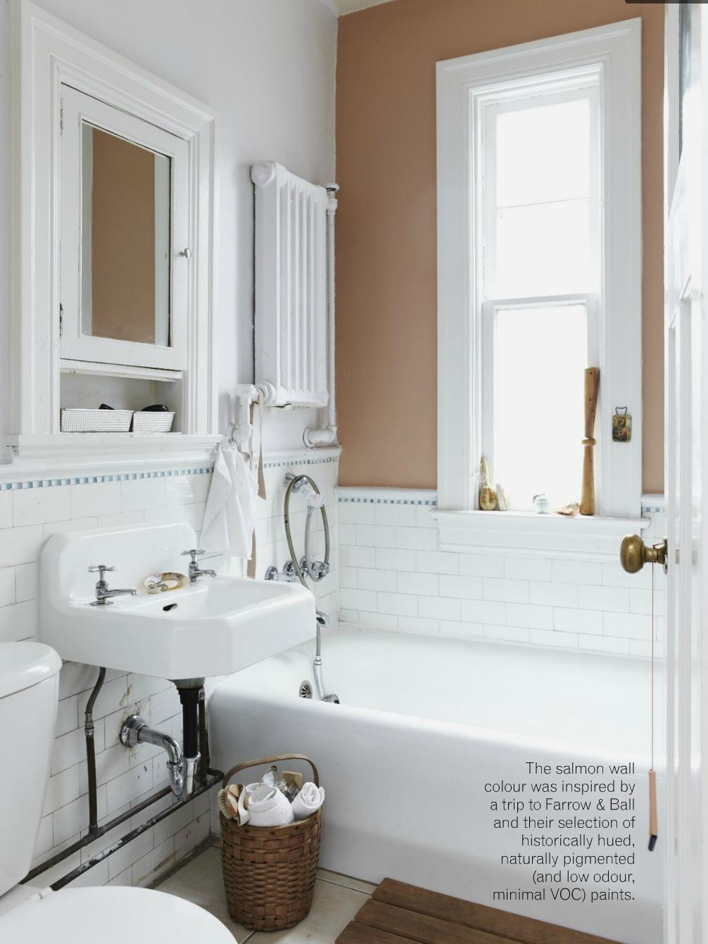 Decorology: House Tour! A Vintage But Minimal Toronto Apartment · Bathroom  HeaterToronto ApartmentSalmon ColorBeautiful ...