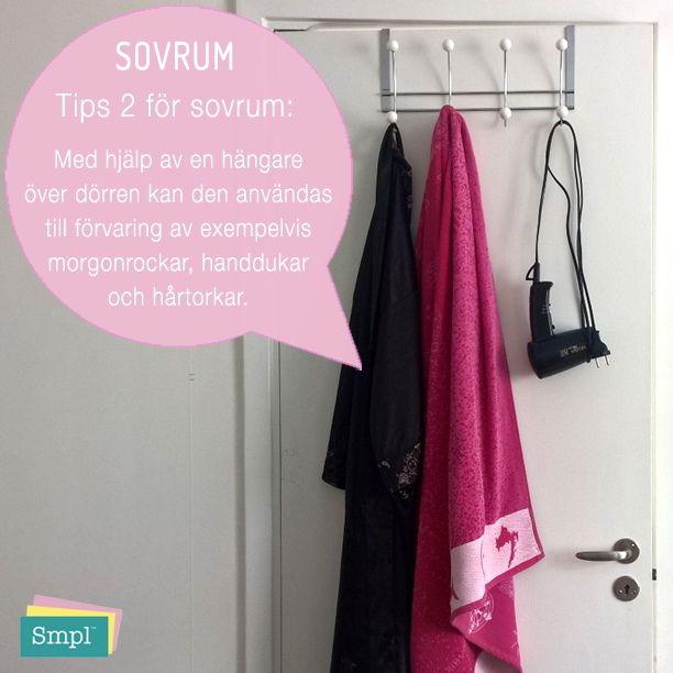 Gillar du smart förvaring?  #ordningsexpert #förvaring #smartförvaring #sovrum #kläder