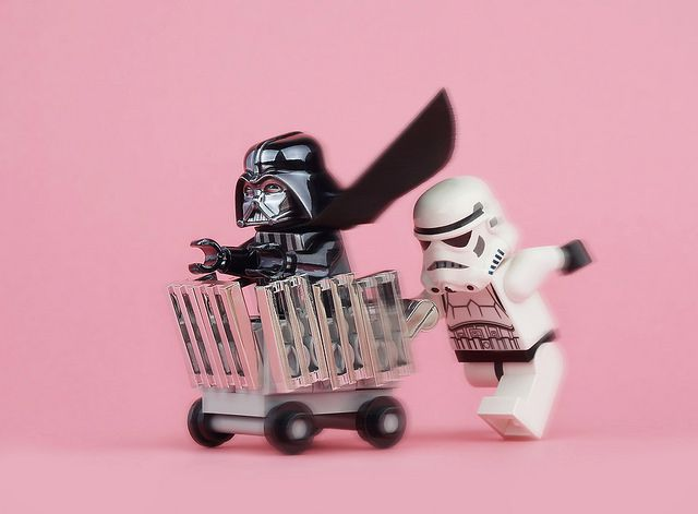 Shopping Cart Run Lego Ideeen Lego Speelkamer