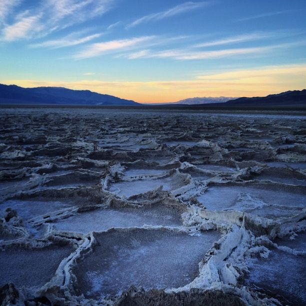 Badwater Basin Inyo County California By Bernini California Mountains Inyo County Desert Life