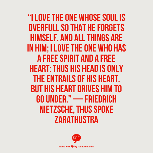 Nietzsche's Thus Spoke Zarathustra, Book One