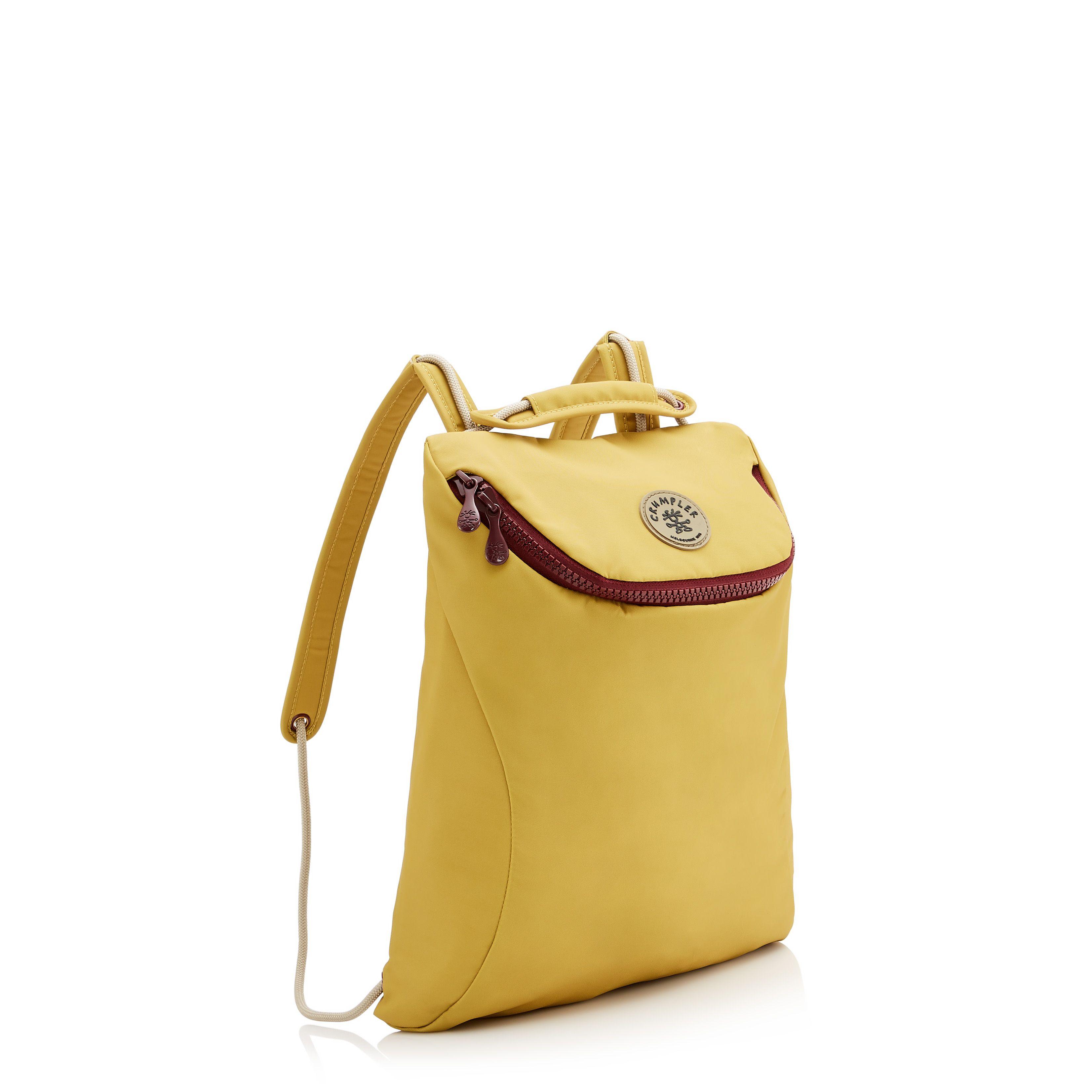 4d3b49b4fa The Fang backpack in Citron  backpacks  backpack  yellowbags   yellowbackpacks  mustardbags  mustardbackpacks  versatilebags   weatherproofbags  crumpler