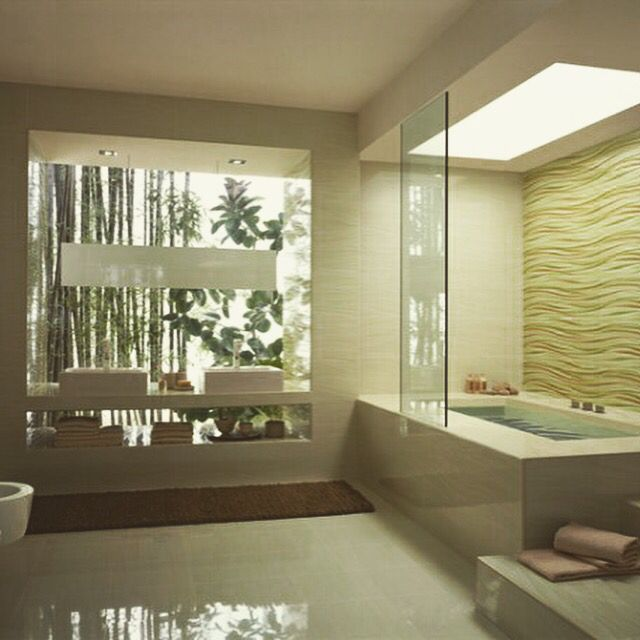 Baños espectaculares