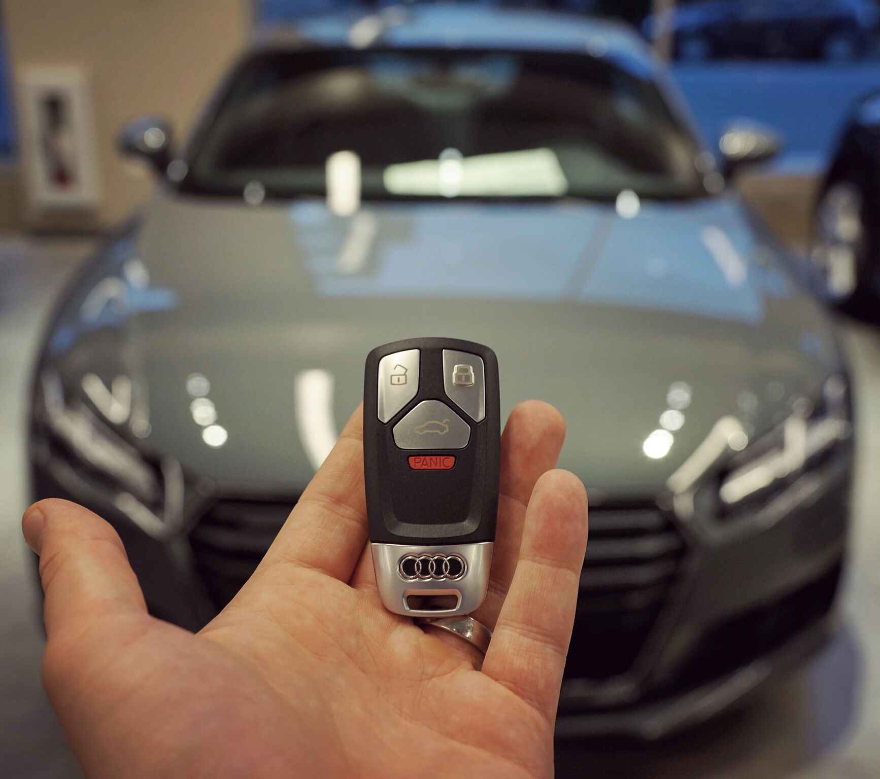 TT Coupe + Key