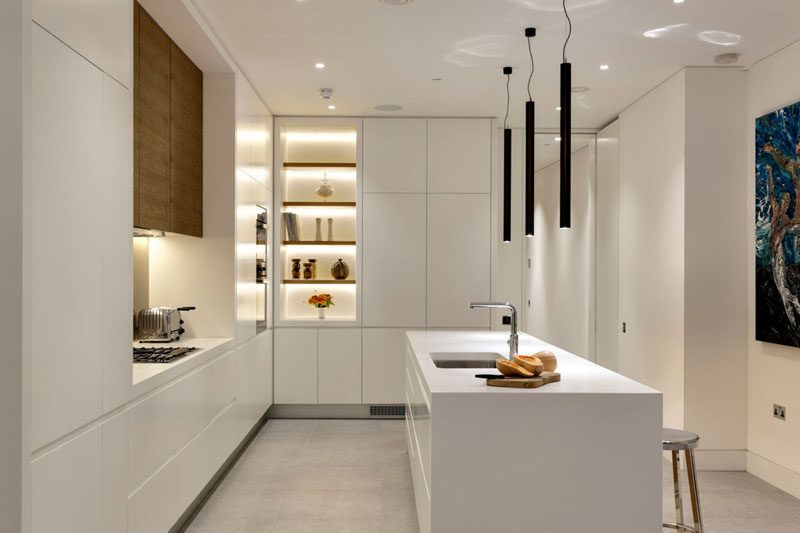 Kitchen Design Idea  White Modern And Minimalist Cabinets Magnificent Modern Big Kitchen Design Ideas Design Ideas
