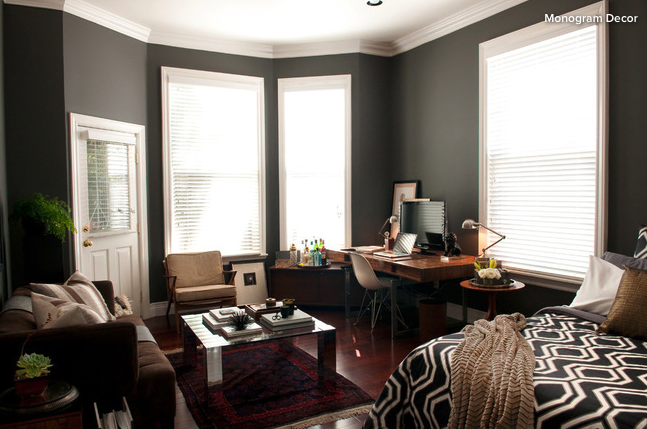 Graduation present? Here's the real question: if this was your living space, how long would it continue to look like this? | http://www.houzz.com/ideabooks/79111698/list/room-of-the-day-a-place-of-ones-own/