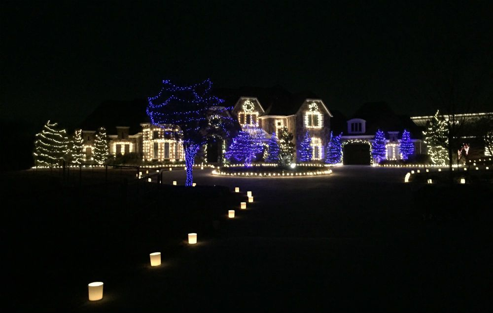 Christmas lights installed by Dallas Landscape Lighting - we hang / string  holiday lighting in # - Pictures: Holiday / String Lights Holiday, Lighting And We