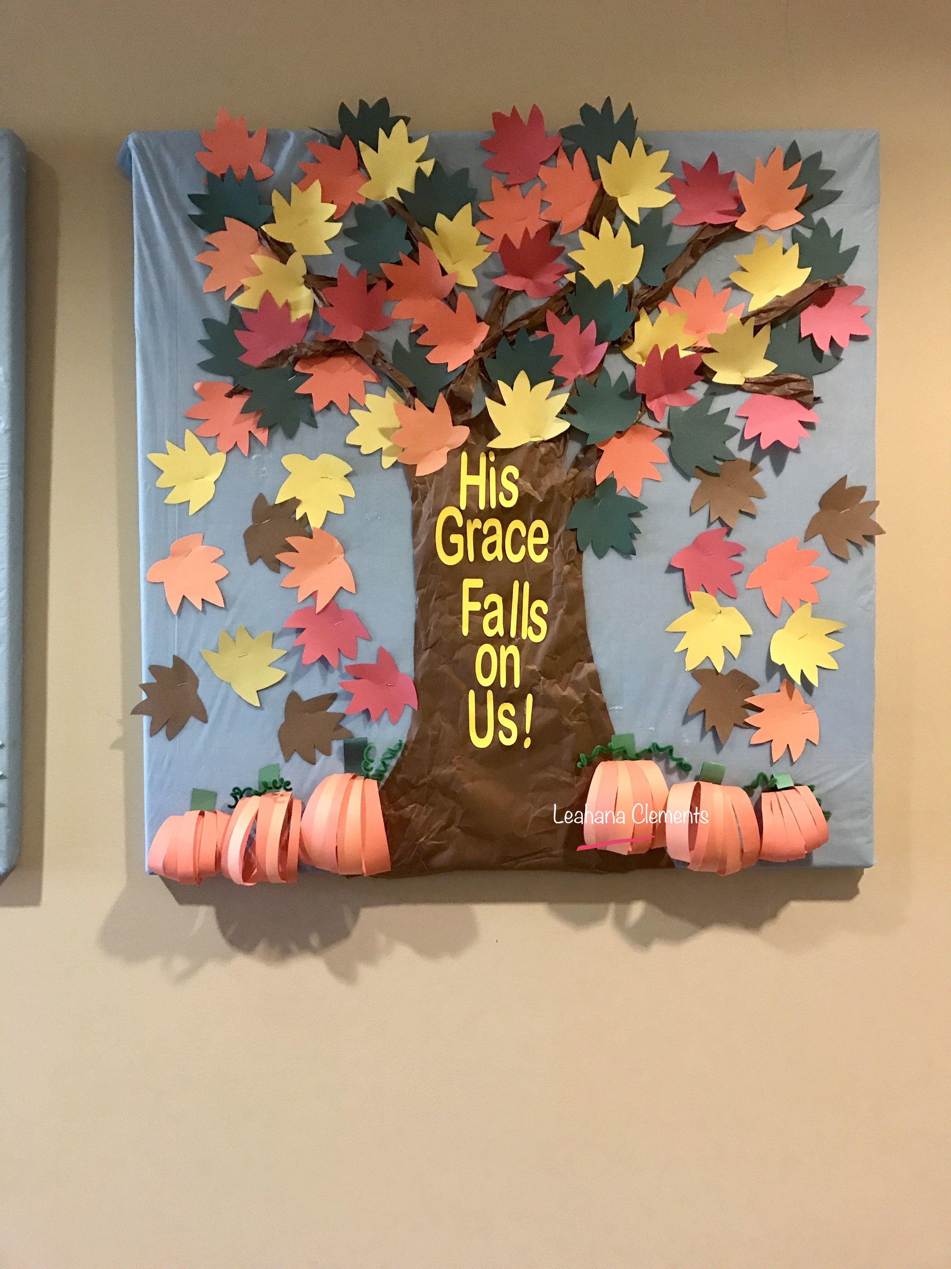 Fall Bulletin Vbs Church Boards Thanksgiving Halloween