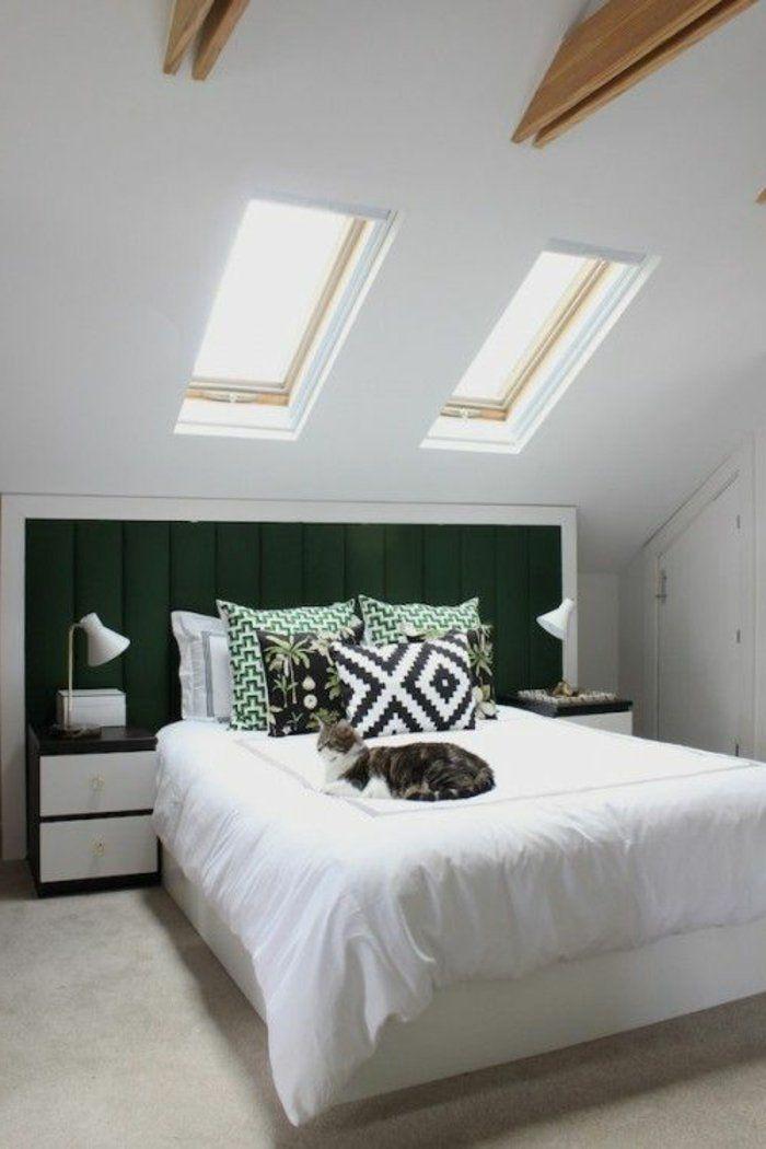 51 photos pour trouver le meilleur am nagement de combles chambre coucher pinterest - Amenagement chambre a coucher ...