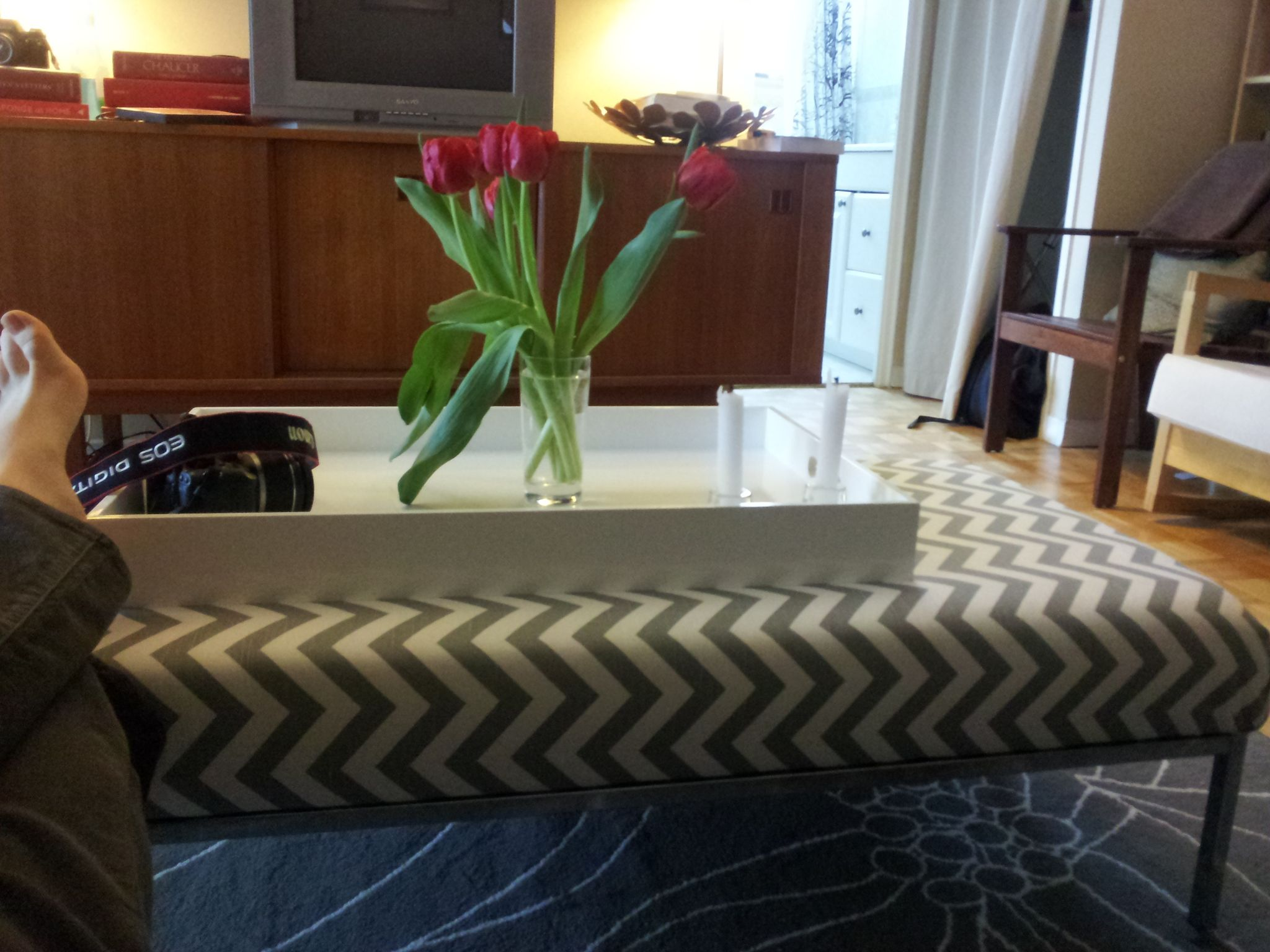 Ikeahack Klubbo Coffee Table Into Custom Upholstered Coffee