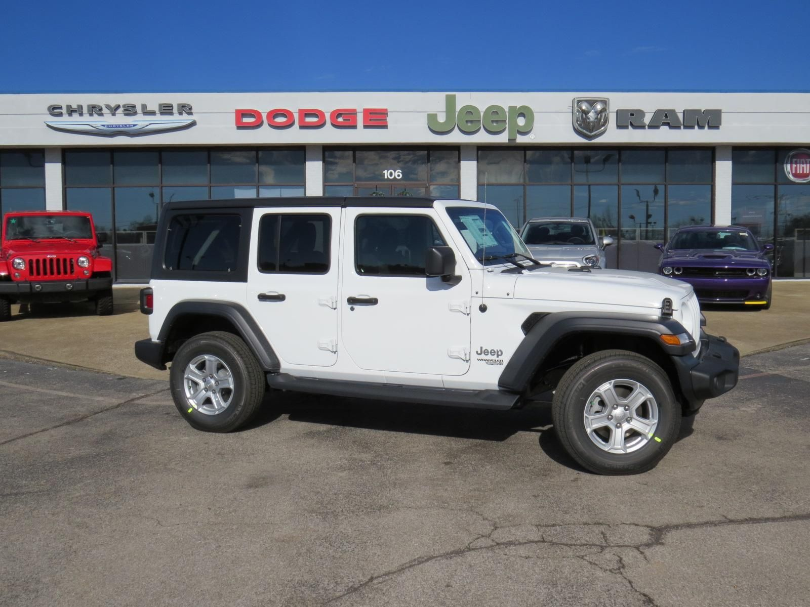 New Jeep Dodge Chrysler Fiat And Ram Inventory Jeep Jeep Wrangler Unlimited Wrangler Unlimited Sport