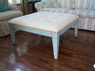 coffee table to ottoman | Hogar DIY | Pinterest | Tapizado, Mesas y ...
