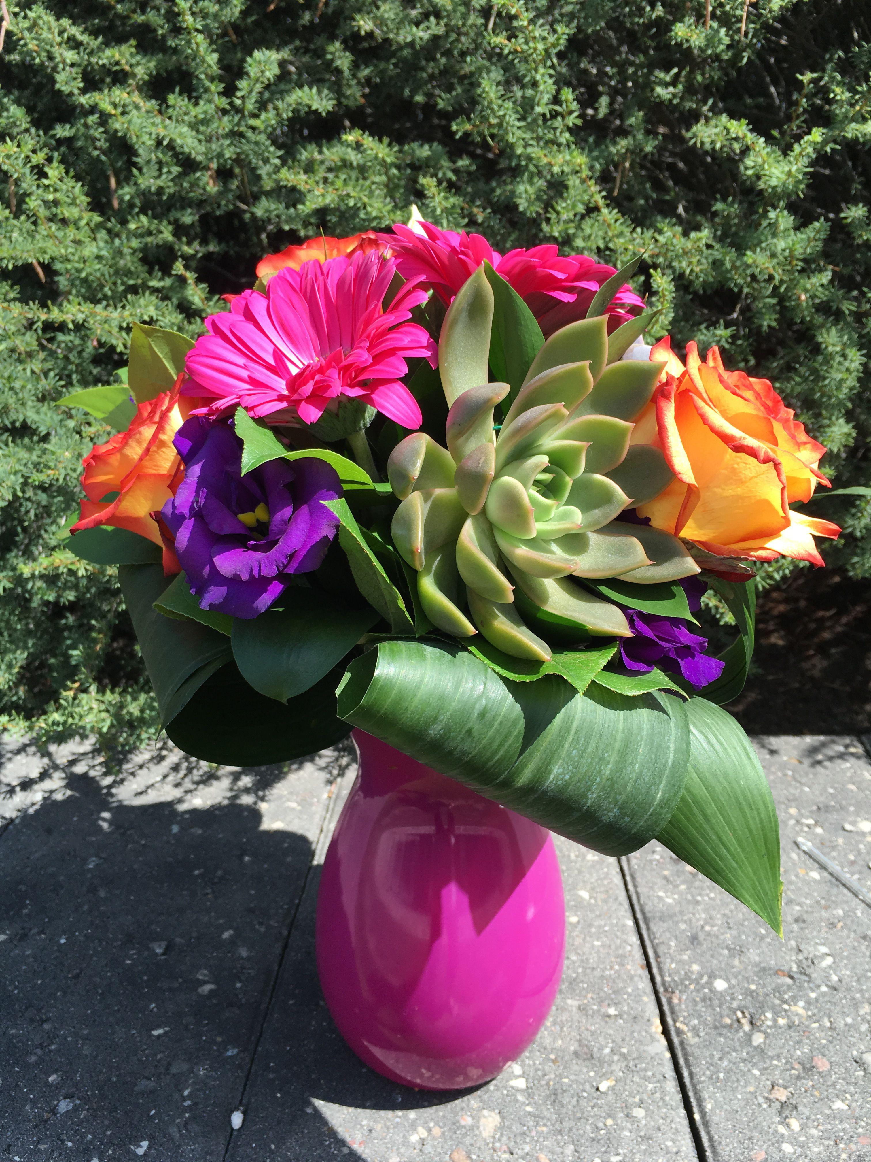 Vibrant Succulent Arrangement Order flowers online