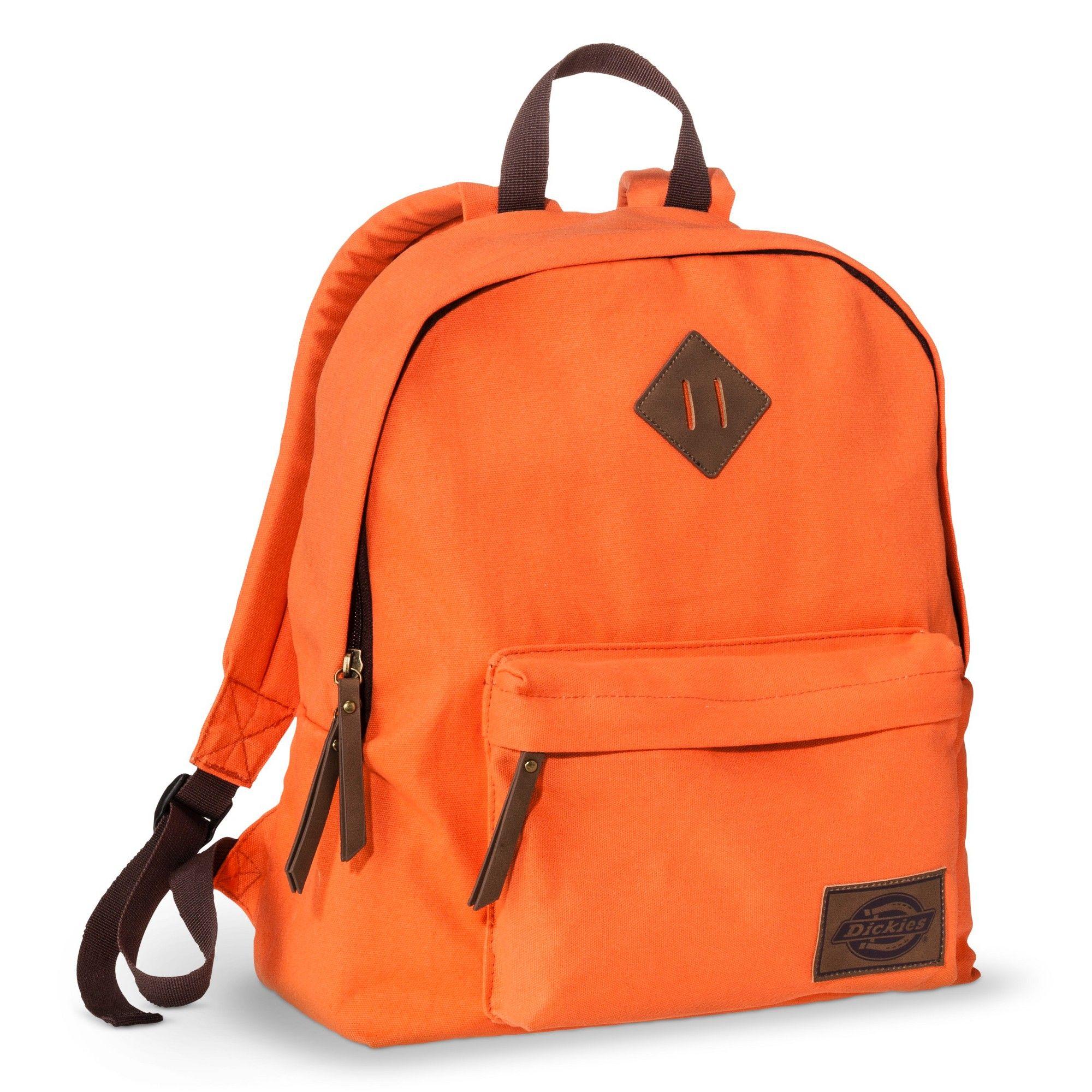 5c28069c9381 Dickies Men s Classic Canvas Backpack - Burnt Orange