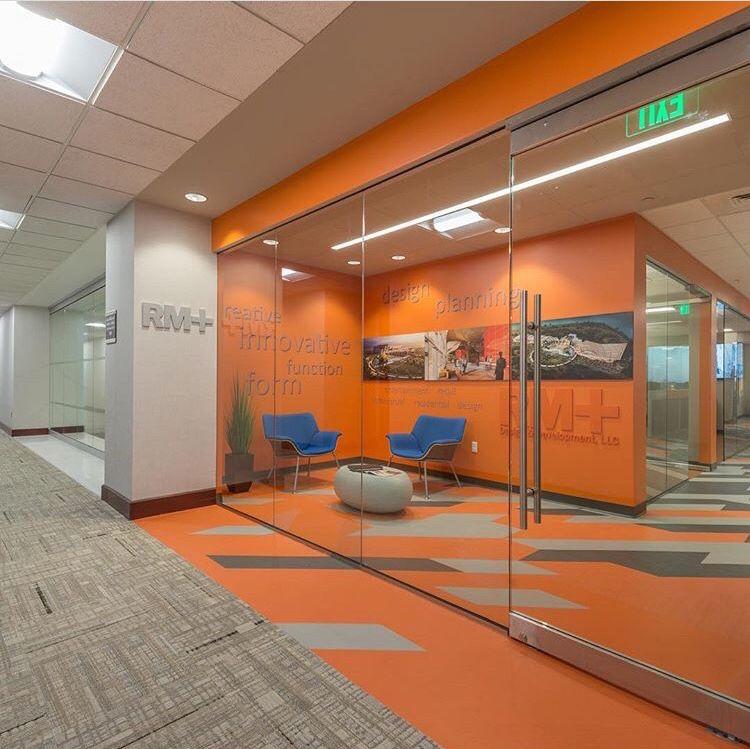 Metallix Mixed Materials Patcraft Rm Design Firm Office Orlando Fl