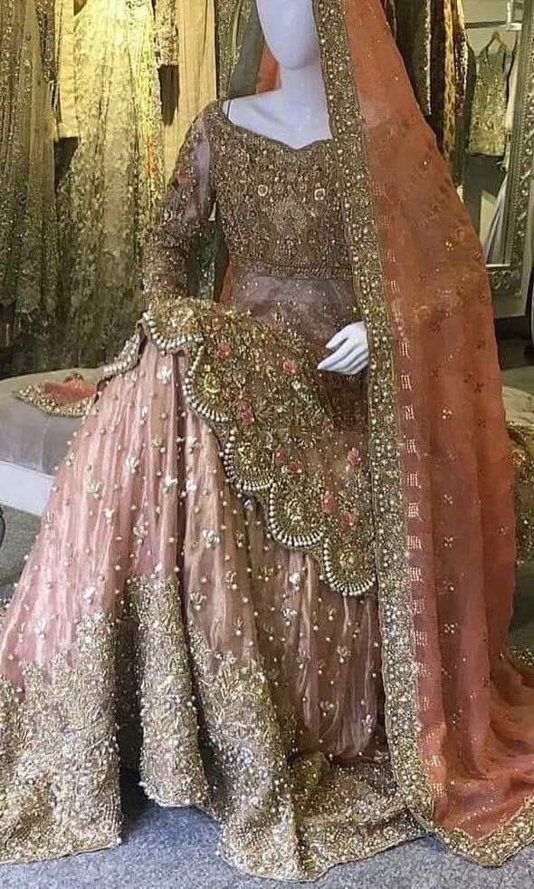 409f28a510 Luxury Asian Pakistani Indian Bridal dress tailormade in UK and Europe  www.mizznoor.co.uk