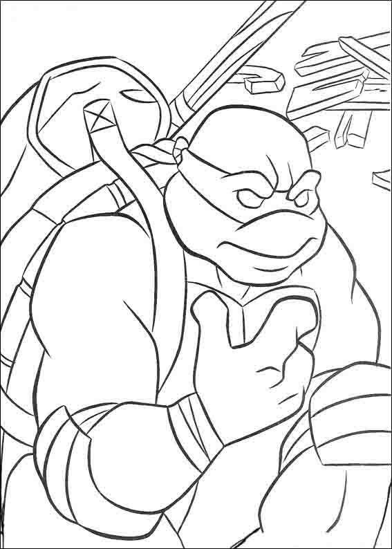 Dibujos para Colorear Tortugas Ninja 47 | Dibujos para colorear para ...