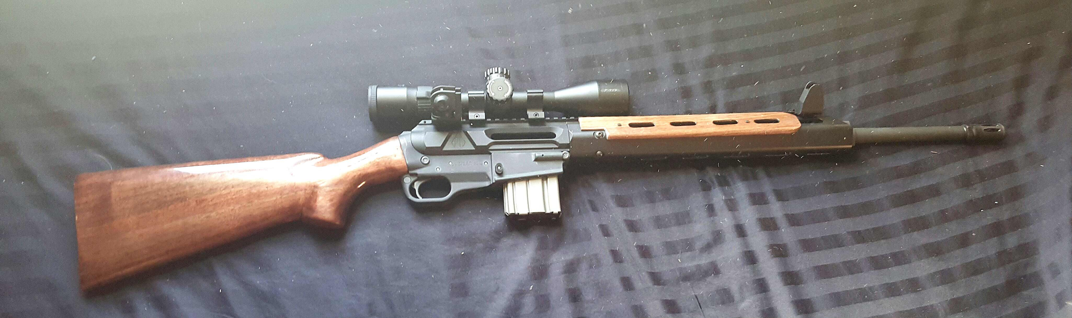 Fitting A Wooden Stock Onto My Ares Scr Rifle