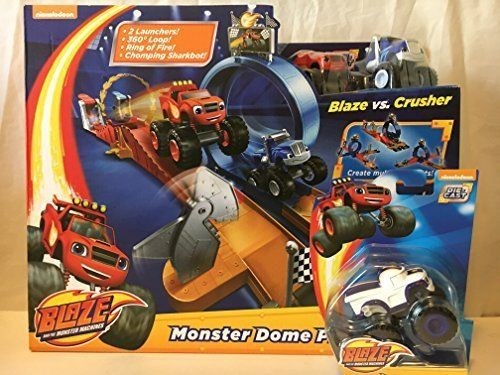 Nickelodeon Blaze And The Monster Machines Dome Playset Monster