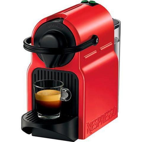 A Cafeteira Expresso Nespresso 19 BAR Ruby Red Inissia custa 371,08 reais nas Lojas Americanas.