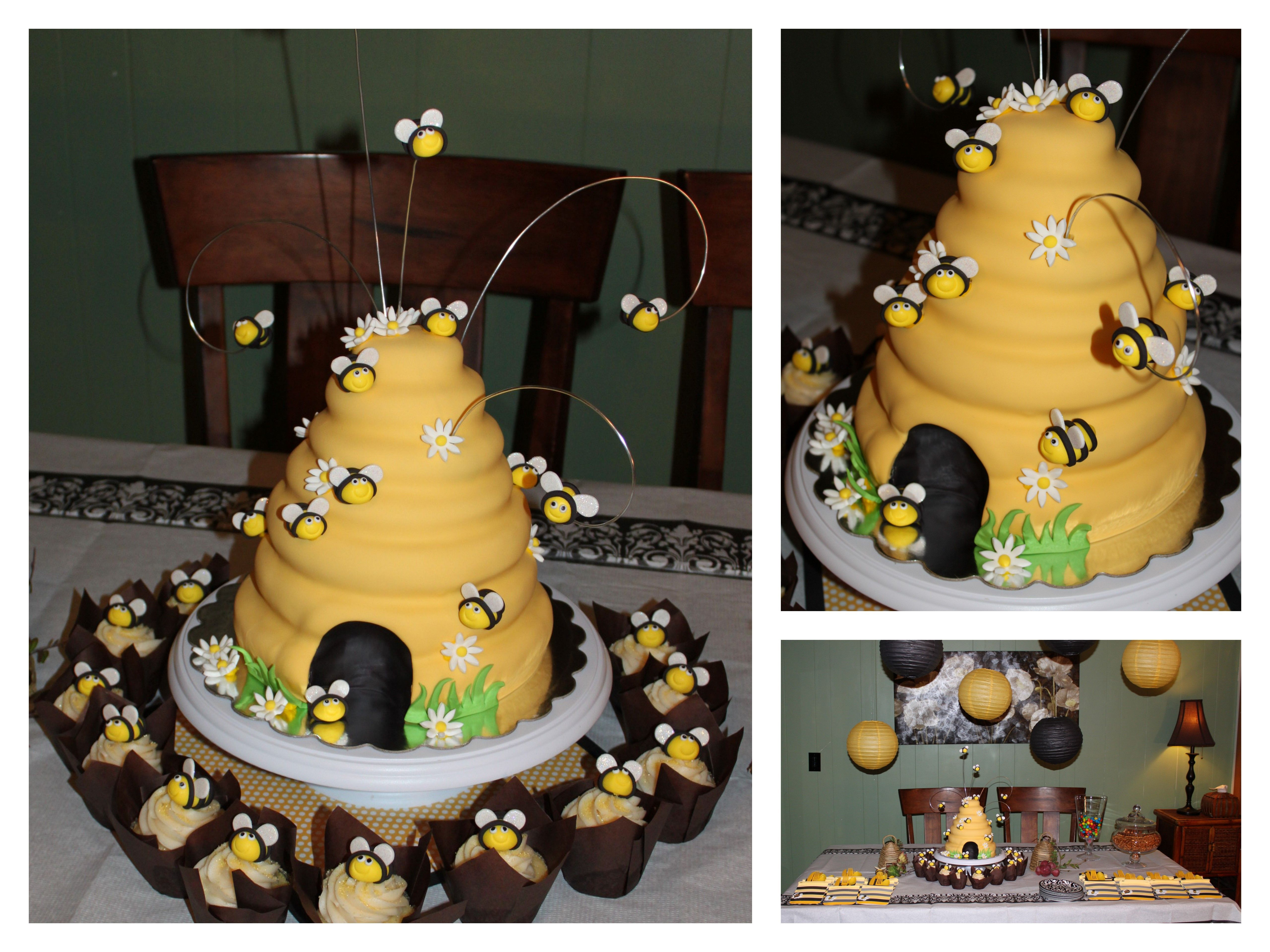Jenny S 39th Birthday Cake Bee Cause She Is The Queen Bee With