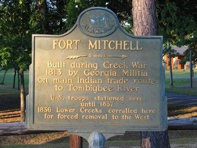 Ft Mitchell Al marker stockade - Google Search