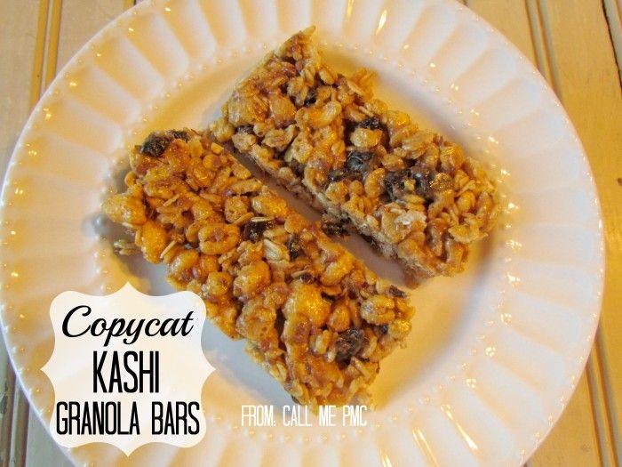 Copycat Kashi Granola Bar Recipe / Call Me PMc - Call Me PMc