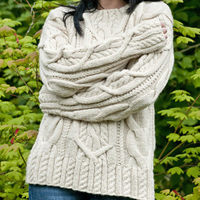 Cascade Yarns C186 Cable Lover's Pullover (Free) | Cable ...