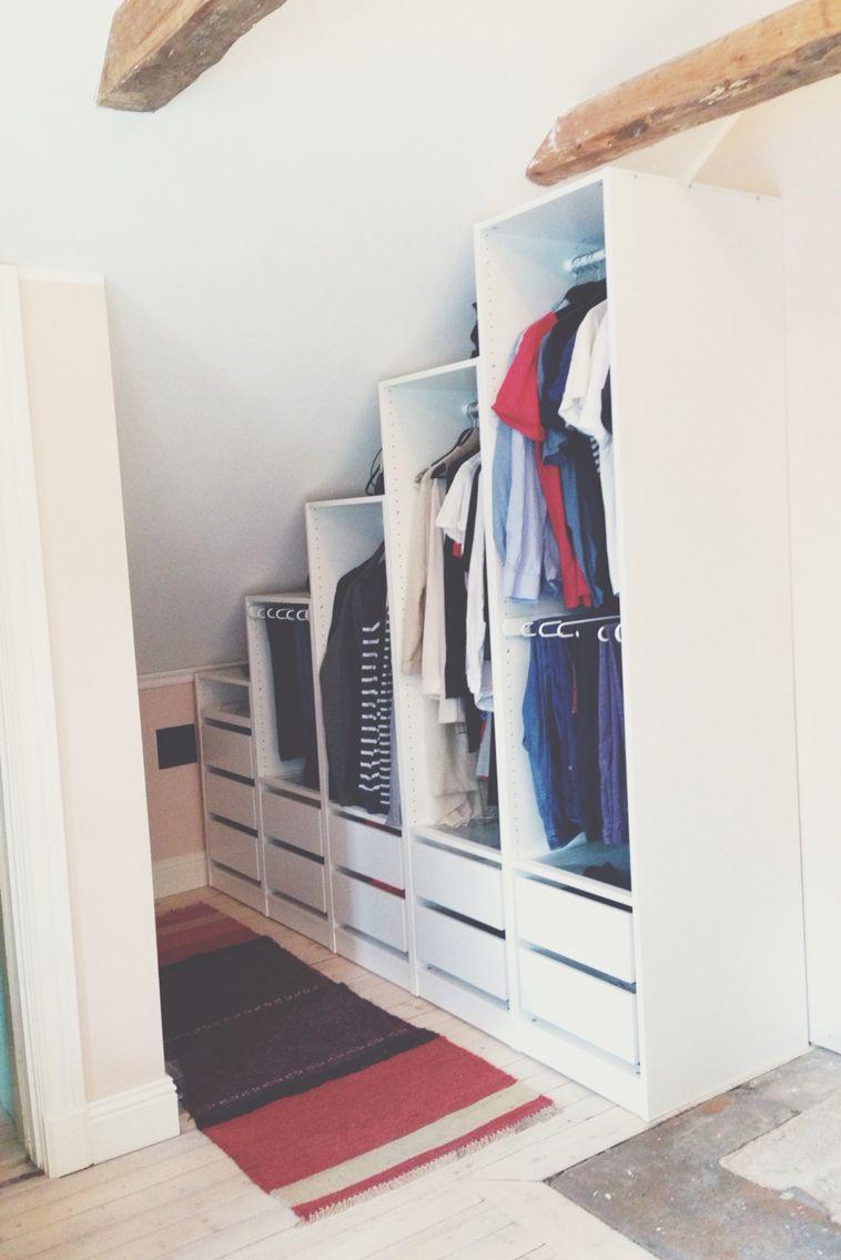 walk in closet snedtak