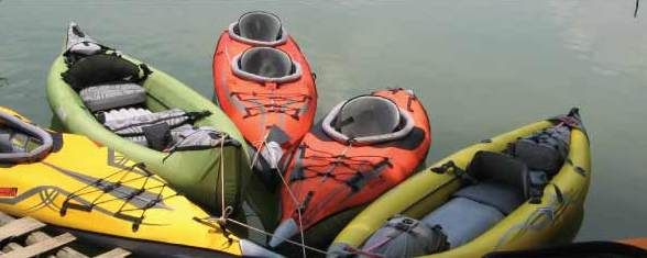 Top Three Inflatable Kayaks Per Category