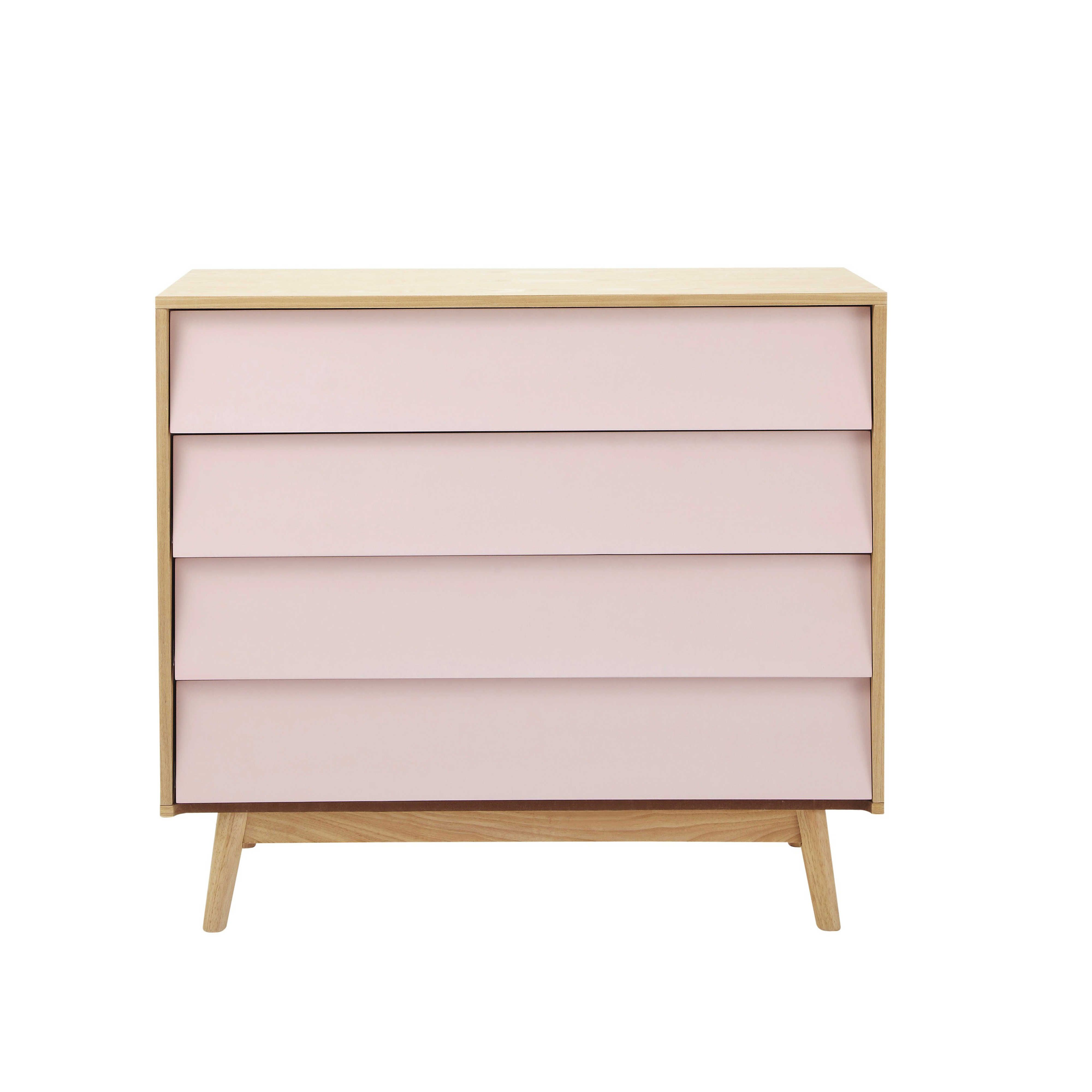 Comoda Vintage De Madera Rosa An 90 Cm Fjord Maisons Du Monde Dresser Decor Furniture