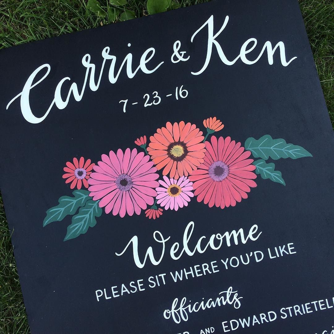 Happy wedding day to Carrie and Ken!! (With images