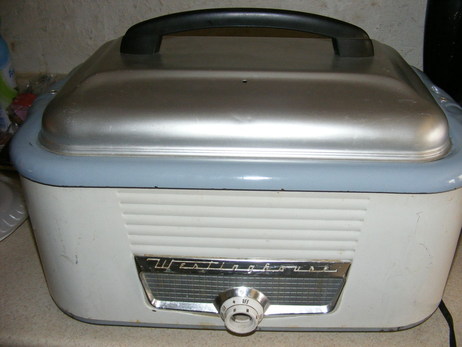Vintage 1950u0027s Westinghouse Roaster Oven 18 Quart Electric Roaster Oven  Works
