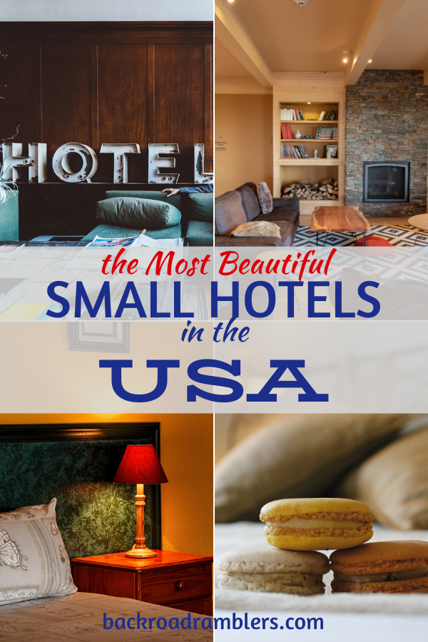 Where To Stay In The Usa The Best Small Boutique Hotels Travel