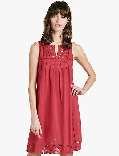 34a4d8831f7 Embroidered Yoke Dress