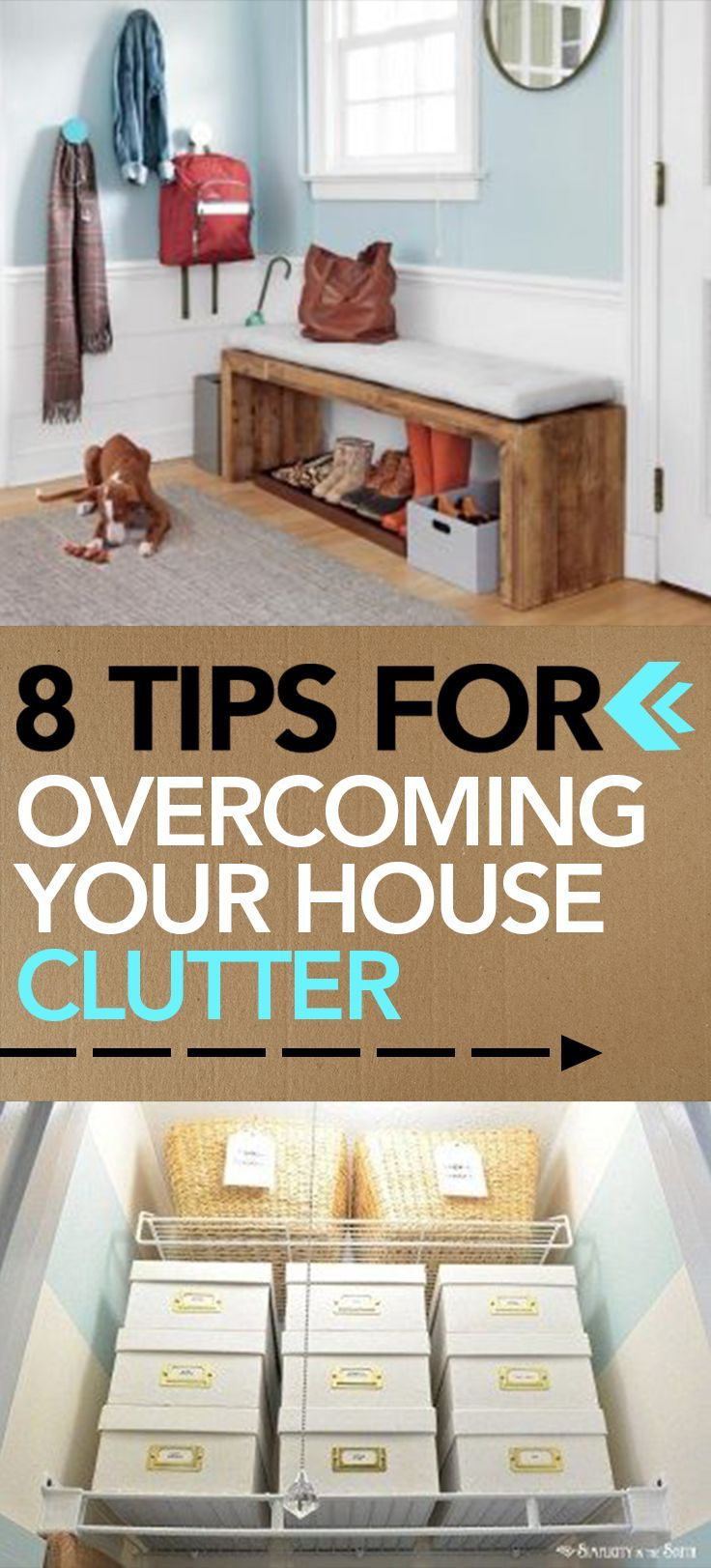 Tips For Overcoming Your House Clutter Popular Pins Clutter
