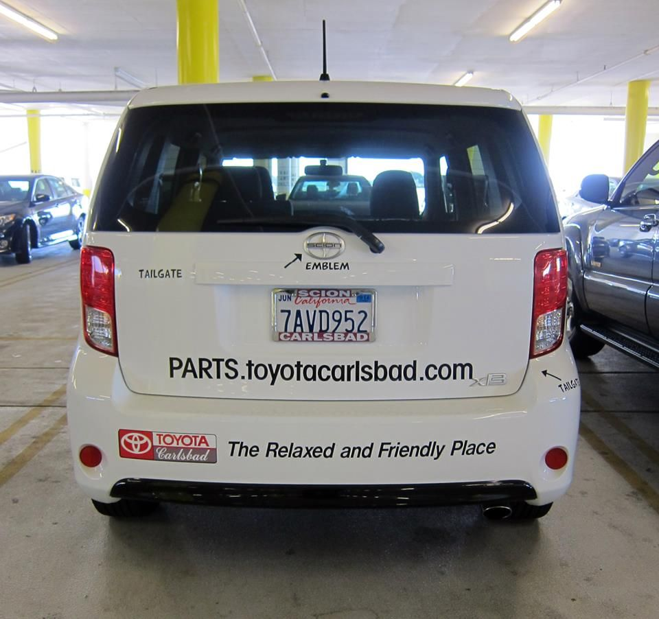 Have you spotted our parts delivery vehicle around town?