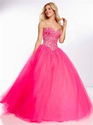 e83208887 Ball Gown Sweetheart Drop Waist Jewels Tulle Prom Dress PD11452  www.dresseshouse.co.uk  169.0000